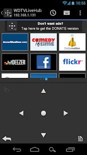 WDlxTV MediaPlayers Remote - screenshot thumbnail