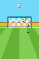 Screenshot of Goalcraft - Goalkeeper Game