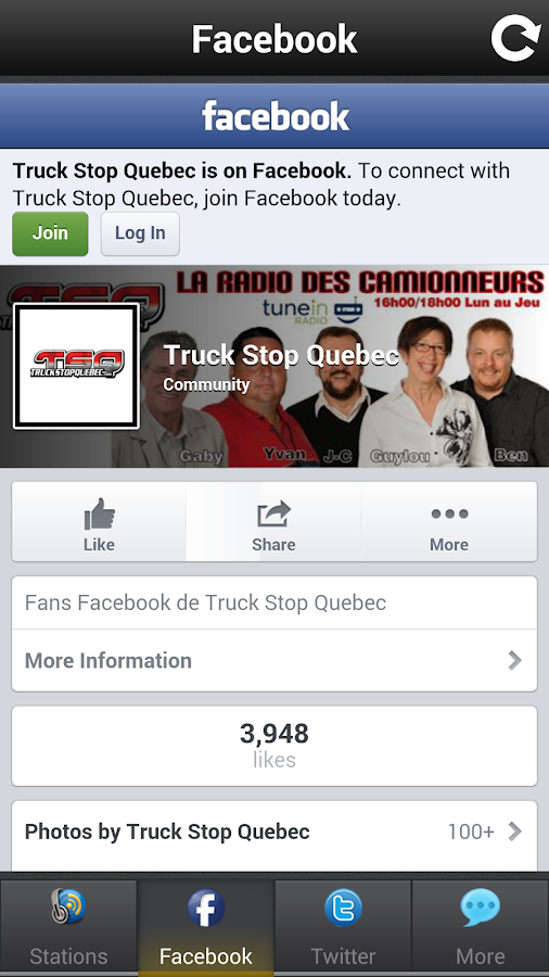Truck Stop Quebec- screenshot