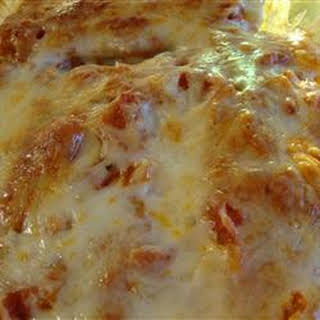 Beef Cannelloni Bake.