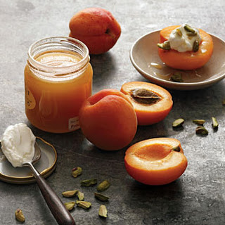 Apricots, Yogurt, and Honey.