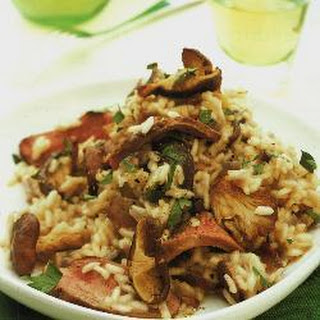 Duck And Wild Mushroom Risotto