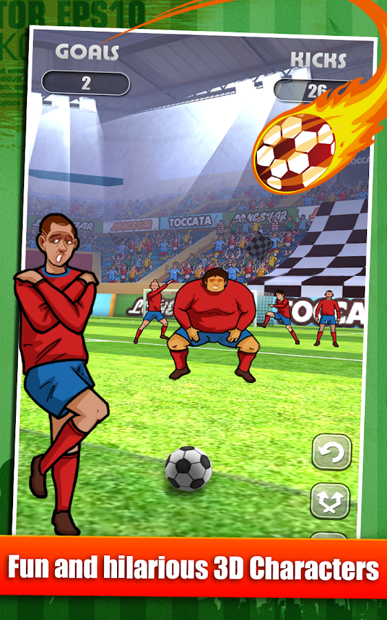 Flick-n-Score - Soccer Edition - screenshot