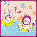바다 깡깡이 카카오톡 테마 icon