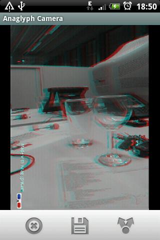 Anaglyph 3D Camera - screenshot