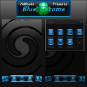 Blue Chrome Go Launcher EX icon