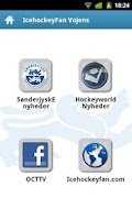 Screenshot of IcehockeyFan News SønderjyskE