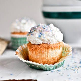Angel Food Cupcakes.