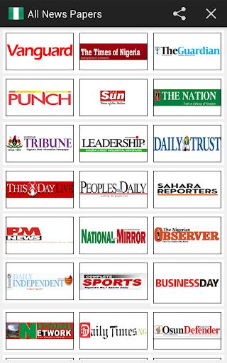 All Newspapers Nigeria