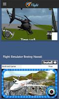 Screenshot of Flight Games