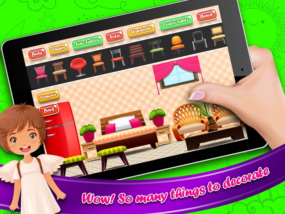 design doll house games online modern design