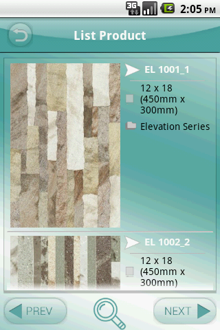 Letina Digital Wall Tiles - screenshot
