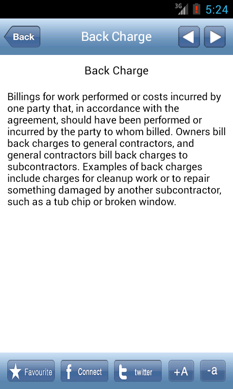 Construction Glossary Android Apps On Google Play