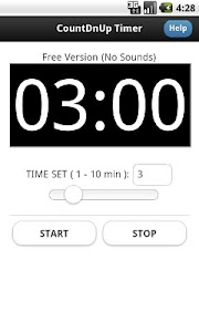 Countdown Countup Timer Free screenshot 1