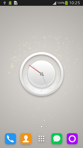 Plain White Clock