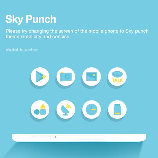 Sky Punch dodol theme