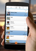 Screenshot of My Grocery List