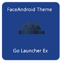 FaceAndroid Theme GoLauncherEX logo