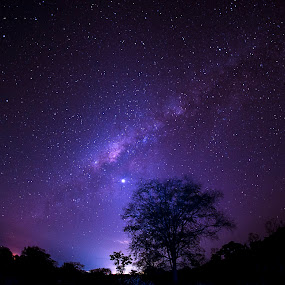 eastern milky way.... by Lie Oktevianus - Landscapes Starscapes
