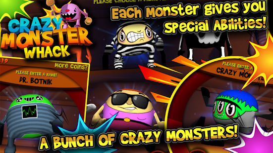 Crazy Monster Whack- screenshot thumbnail