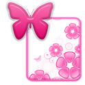 KB SKIN - Butterfly Flower icon