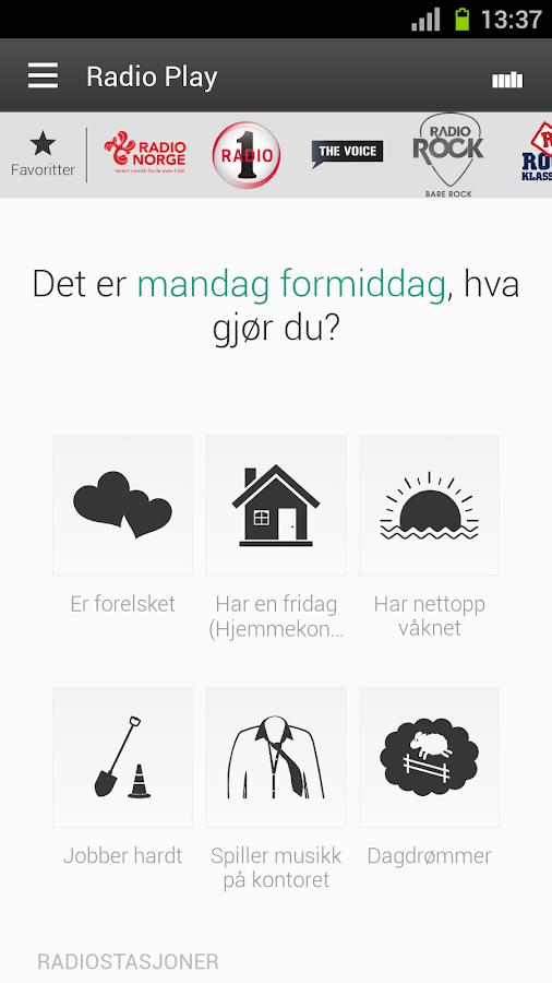 Radio Norge - screenshot