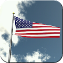 US Flag Flying Live Wallpaper