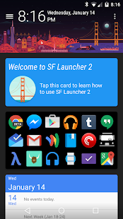 SF Launcher Plus Key - screenshot thumbnail