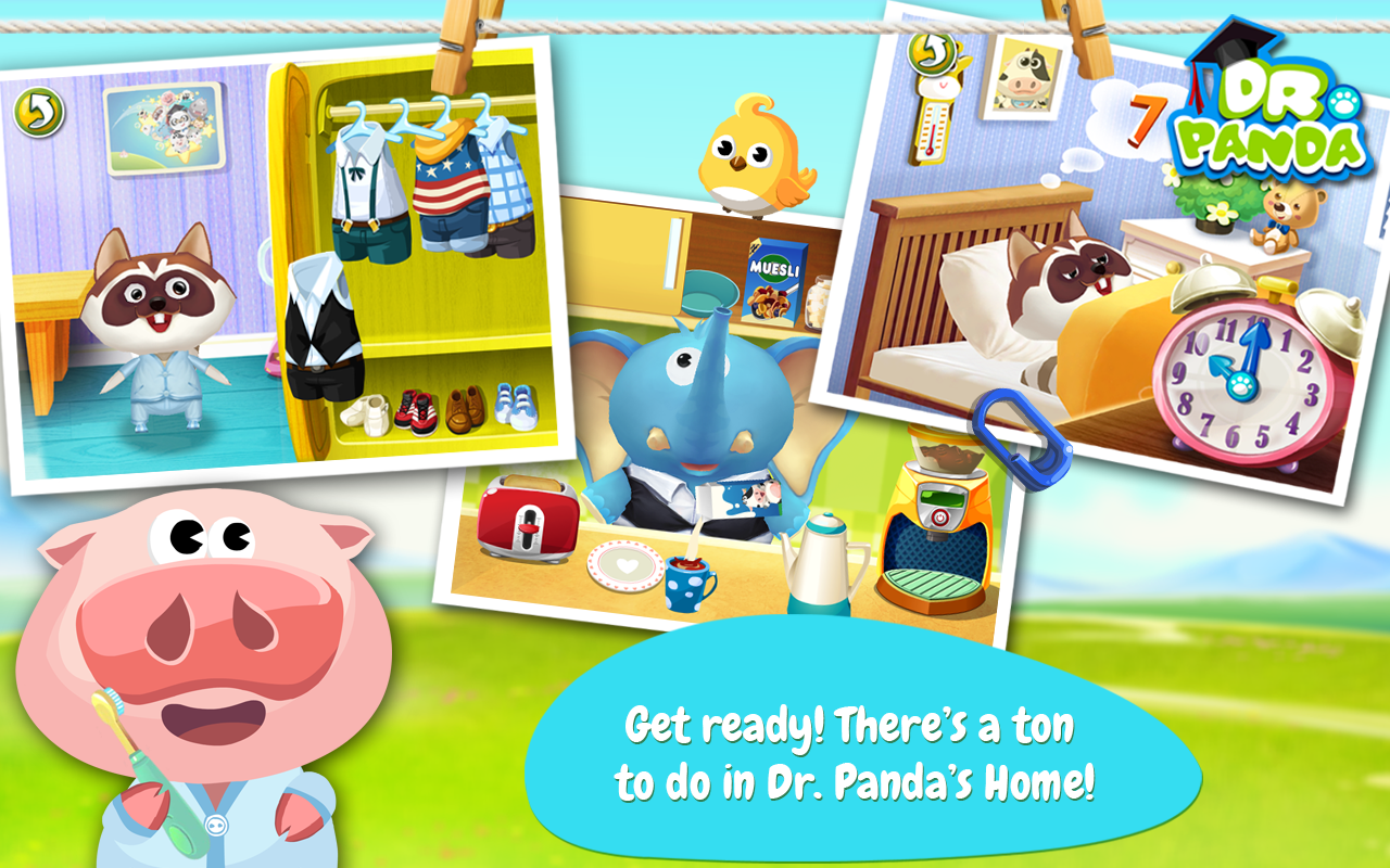 Dr. Panda Home- screenshot