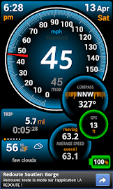 Ulysse Speedometer Screenshot 1