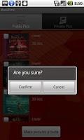 Screenshot of RedPics Media Vault Invisible