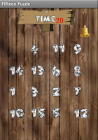 Screenshot of Fifteen Puzzle