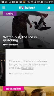 mX- screenshot thumbnail