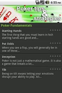 Poker Tips & Strategy - screenshot thumbnail