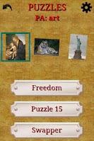 Screenshot of aPuzzles FREE