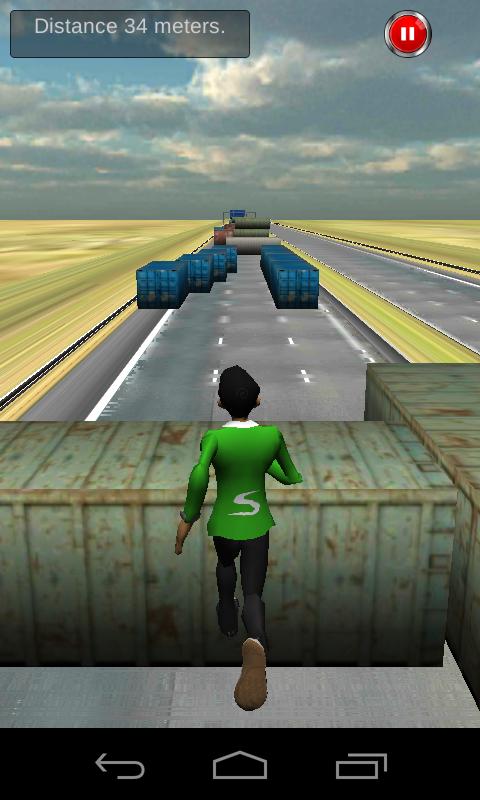Container Run - screenshot