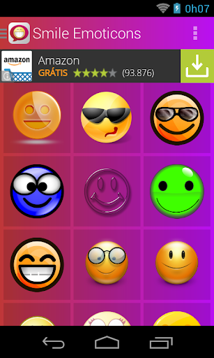 Smile Emoticons
