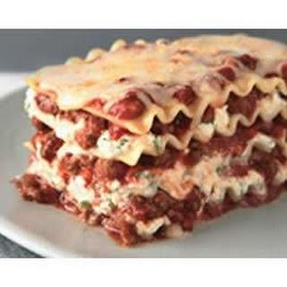 Simply Lasagne.