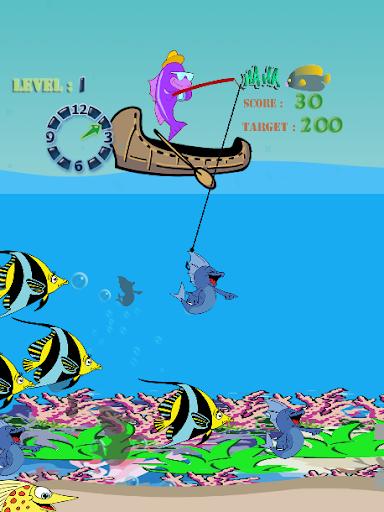 子供のための釣りゲーム