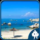 Puzzle paesaggio marino icon