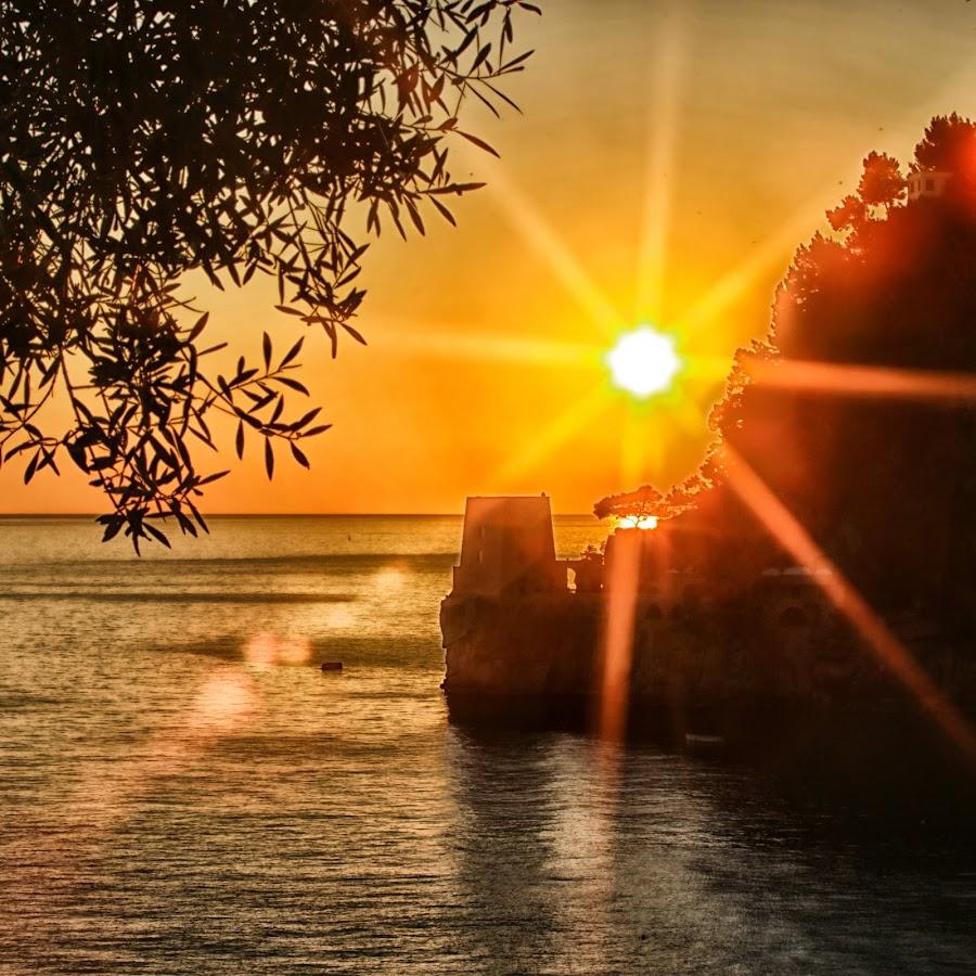 Positano Sunset, Amalfi Coast by Dharmali Kusumadi - Landscapes Sunsets & Sunrises