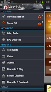 News On 6 Weather - screenshot thumbnail