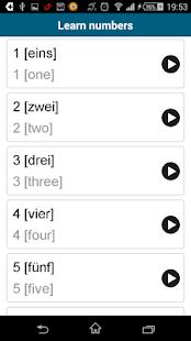 Learn German - 50 languages - screenshot thumbnail