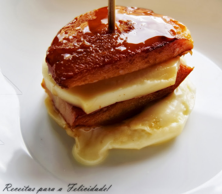 Baked Quince with Ripened Cheese Recipe