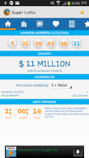 SuperLotto Plus Lottery Board