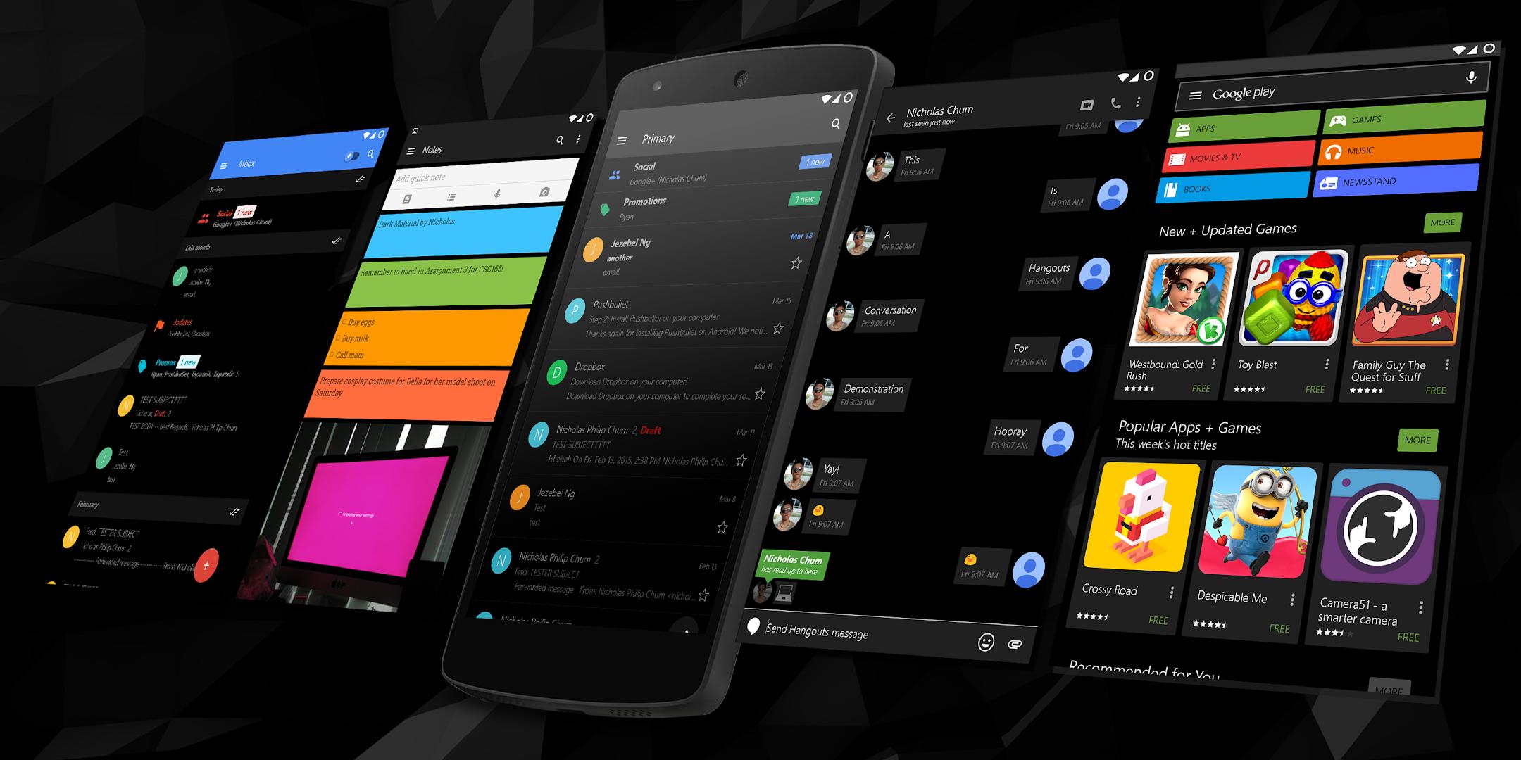 Google uk themes - Dark Material Cm12 12 1 13 Google Play Store Revenue Download Estimates France