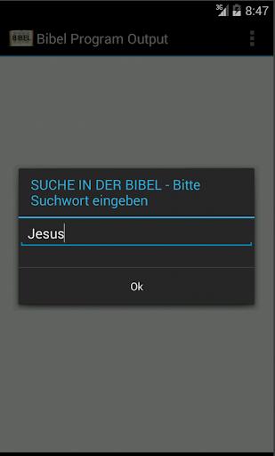 Bibel - Schnellsuche