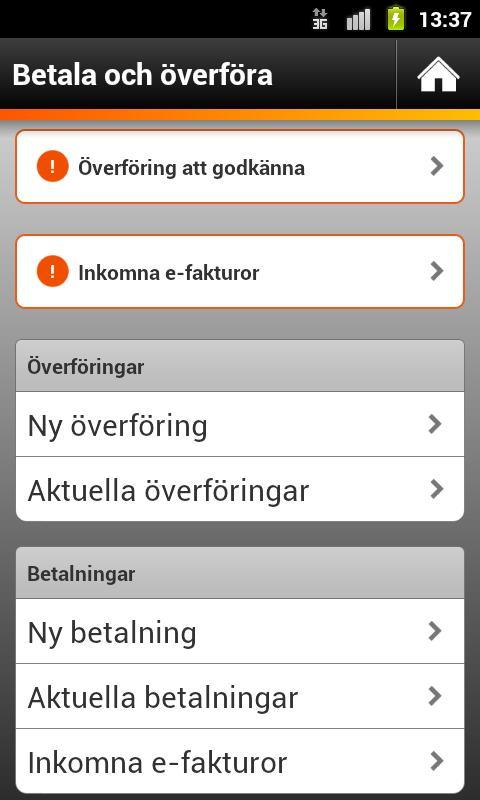 Swedbank- screenshot