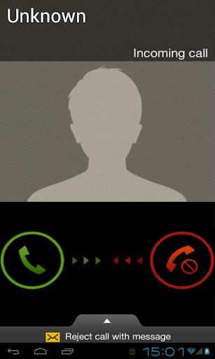 フェイク着信コール