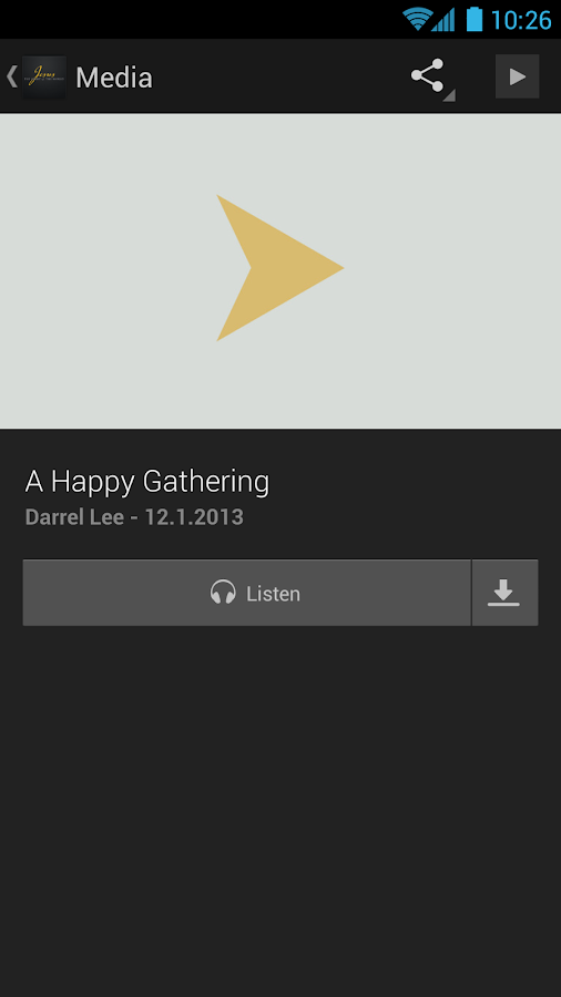 Apostolic Faith- screenshot